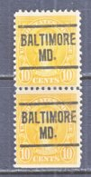 U.S. 562   Perf. 11   *   MARYLAND    1922-25  Issue - Precancels