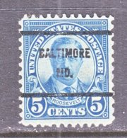 U.S. 637   Perf. 11 X 10 1/2   *   MARYLAND    1926-34  Issue - Precancels