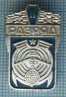 USSR / Badge / Soviet Union / RUSSIA. Radio Sport . Second Rank 1970-80s - Pin