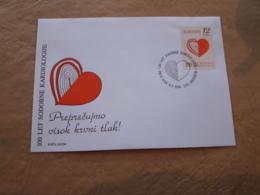 Slovenie Centenaire Des Premiers Examens Cardiologiques 1996 - Medicina
