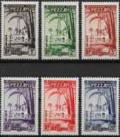 Fezzan  Timbres Taxe  1950    Cat Yt N° 6 à 11    N* MLH - Fezzan (1943-1951)