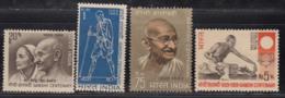 India MNH 1969, Gandhi, Set Of 4, - India