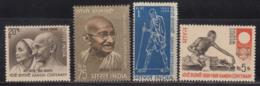 India MNH 1969, Gandhi, Set Of 4, As Scan - India