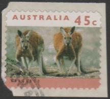 AUSTRALIA - DIE-CUT-USED 1994 45c Koalas And Kangaroos, Printset Cambec 1K Reprint - 1990-99 Elizabeth II