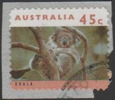 AUSTRALIA - DIE-CUT-USED 1994 45c Koalas And Kangaroos, Pemara 4K Reprint - 1990-99 Elizabeth II
