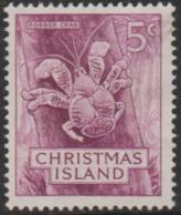 CHRISTMAS ISLAND -USED 1963 5c Robber Crab - Christmas Island