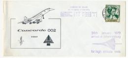ESPAGNE - CONCORDE 002 - Las Palmas => Johannesburg - Premiers Tests D'Altitude 24 Janvier 1973 - Concorde