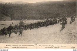 MILITARIA GUERRE 1914-18  Plateau D'Etrepilly Aux Abords Du Cimetière - Charge à La Baïonnette   .......... 1914 - Guerra 1914-18