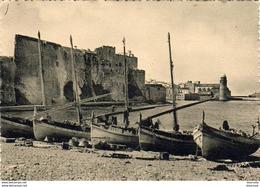 D66  COLLIOURE Le Port Du Faubourg Et Le Château .......... - Collioure