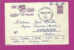 FRANCE GUERRE 1939 1945 Carte Prisonnier De Guerre à SARREBOURG GEPRUFT OBERKOMMANDO DER WEHRMACHT - Marcofilie (Brieven)