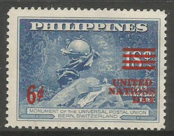 Philippines - 1959  United Nations Day MNH ** - Philippines