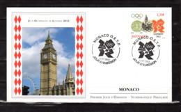 """"""" J.O. DE LONDRES 2012 / BIG BEN """" Sur Enveloppe 1er Jour De 2012. N° YT 2836. Parfait état FDC - Eté 2012: Londres"""
