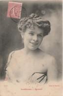 E25- ARTISTE  FEMME - FRAU - LADY - LANTHENAY - VARIETES - CLICHE H. MANUEL - (OBLITERATION DE 1904 - 2 SCANS) - Entertainers