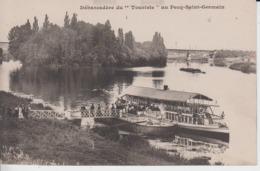 """YVELINES - Débarcadère Du """" Touriste """" Au PECQ SAINT GERMAIN - Autres Communes"""