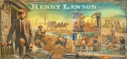 Australia 2017 Henry Lawson Minisheet CTO - Oblitérés