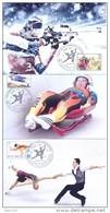 2014.  Russia - Winner Of Winter Olympic  Games Sochi, 6 Maxicards, FDC, Mint/** - Winter 2014: Sochi
