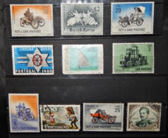A104  PORTUGAL LOT OF 10 DIFFERENT STAMPS - Portugal