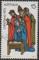 AUSTRALIA - USED 1975 15c Christmas - Three Wise Men - 1966-79 Elizabeth II