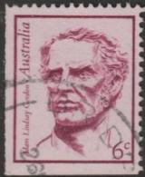 AUSTRALIA - USED 1970 6c Famous Australian Booklet Stamp - Adam Lindsay Gordon - 1966-79 Elizabeth II