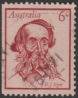 AUSTRALIA - USED 1970 6c Famous Australian Booklet Stamp - John Eyre - 1966-79 Elizabeth II