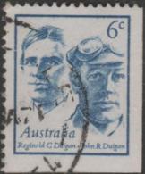 AUSTRALIA - USED 1970 6c Famous Australian Booklet Stamp - John And Reginald Duigan - Aviators - 1966-79 Elizabeth II