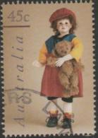 AUSTRALIA - USED 1997 45c Dolls And Bears - Red Doll - 1990-99 Elizabeth II