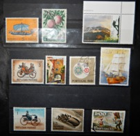A107 PORTUGAL LOT OF 10 DIFFERENT STAMPS - Portugal