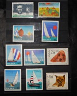 A108 POLOGNE LOT OF 10 DIFFERENT STAMPS - Unclassified