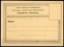 1880, Venezuela, P, Brief - Venezuela