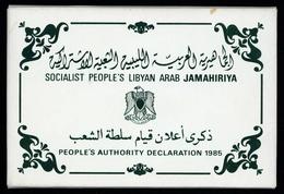 1985, Libyen, P 1-5, Brief - Libya