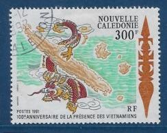 """Nle-Caledonie YT 620 """" Cartes Des îles """" 1991 Oblitéré - Nieuw-Caledonië"""