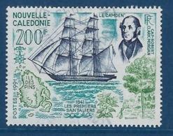 """Nle-Caledonie YT 622 """" 1er Santaliers """" 1991 Oblitéré - Neukaledonien"""