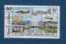 """Nle-Caledonie YT 633 """" Forces Américaines """" 1992 Oblitéré - Neukaledonien"""