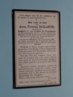 DP Anna ROELANDTS ( Dochter Van De Vogelaere ) Somergem 2 Sept 1896 - 9 Sept 1917 ( Zie Foto's ) ! - Obituary Notices
