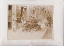 GERMANY BERLIN MILKING GOATS IN STREETS  LE LAIT  21*16CM Fonds Victor FORBIN 1864-1947 - Sin Clasificación