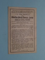 DP Albertine COUCKE ( Claerhout / Holvoet ) Lauwe 28 Dec 1878 - 2 Dec 1912 ( Zie Foto's ) ! - Obituary Notices