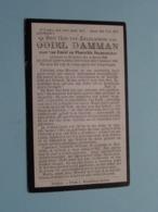 DP Odiel DAMMAN ( Zoon Van Decaestecker ) Staden 4 April 1890 - 9 Jan 1920 ( Zie Foto's ) ! - Obituary Notices