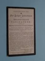 DP Helene-Celine VANISACKER ( Dochter Van Verbauwe ) Ramscappel 14 Feb 1881 - 3 Juli 1908 ( Zie Foto's ) ! - Obituary Notices