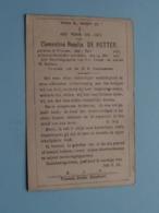 DP Clementina Rosalia DE POTTER () Vracene 7 Juli 1843 - 24 Mei 1917 ( Zie Foto's ) ! - Obituary Notices