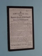 DP Eugenie-Octavie DUCOURANT ( Rousseeuw ) Watou 1 Juli 1856 - 4 Oogst 1915 ( Zie Foto's ) ! - Obituary Notices