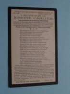 DP Joseph CARLIER ( Zoon Van Driesschaert ) Kortrijk 14 April 1901 - 19 Februari 1918 ( Zie Foto's ) Ongeval ! - Obituary Notices