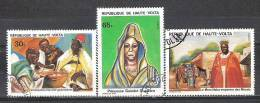 Haute-Volta N° YVERT 522/24  OBLITERE - Haute-Volta (1958-1984)