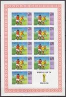 1974Barbuda177KLb1974 World Championship On Football Of Munchen25,00 € - Fußball-Weltmeisterschaft