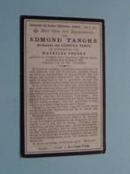 DP Edmond TANGHE ( Weduwnaar Samyn / Echtgenoot Soenen ) Staden 6 Dec 1858 - 18 Maart 1920 ( Zie Foto's ) ! - Obituary Notices