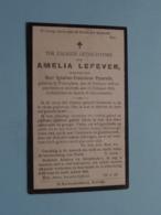 DP Amelia LEFEVER ( Weduwe Van PYCARELLE ) Waereghem 26 Feb 1822 - Kortrijk 13 Feb 1916 ( Zie Foto's ) ! - Obituary Notices