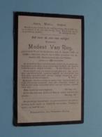 DP Modest VAN ROY () Vorst St. Gertrudis 6 Jan 1832 - 15 April 1914 ( Zie Foto's ) ! - Obituary Notices
