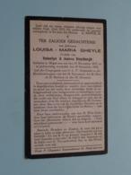 DP Louisa-Maria GHEYLE (Dochter Van DUYSBURGH) Heyst-aan-Zee 19 Nov 1871 - 19 Dec 1918 ( Zie Foto's ) ! - Obituary Notices