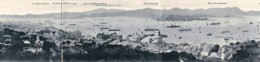 Chine - Hong-Kong - Carte Triple - Souvenir D' Escale - Panorama - China (Hongkong)