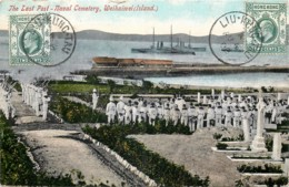 Chine - The Island , WEIHAIWEI - The Last Post - Naval Cemetery - Chine