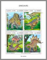 SIERRA LEONE 2019 MNH Dinosaurs Dinosaurier Dinosaures M/S - OFFICIAL ISSUE - DH1931 - Prehistorics
